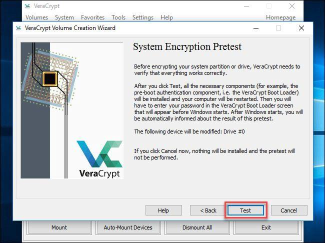 System Encryption Pretest