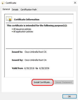 Cisco Certificate Import | Privacy Matters @ UBC